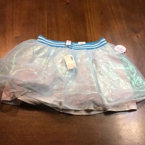 Girl's skirt with built in shorts